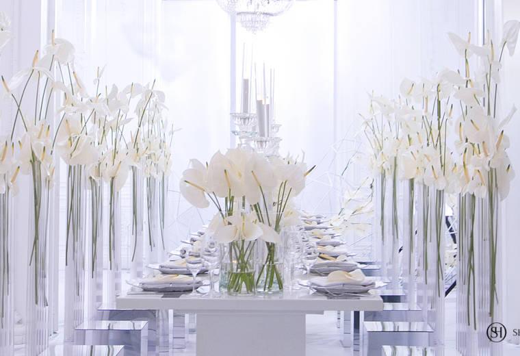 """День рождения <br> """"White Anthurium"""""""